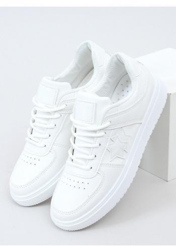 Klasické dámské tenisky bílé barvy s hvězdami