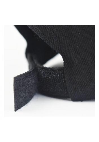 Dámské klasické kšiltovky se suchým zipem v šedé barvě