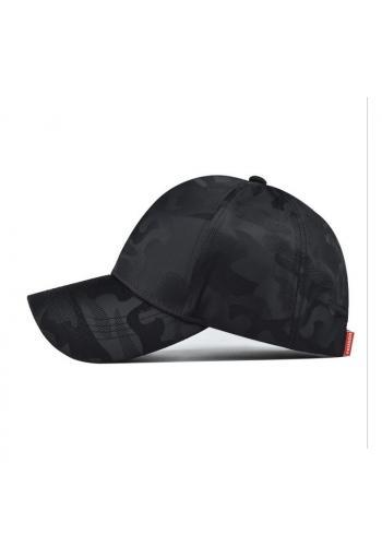 Černá maskáčová kšiltovka pro dámy