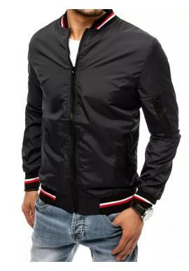 Pánská přechodná bunda v černé barvě