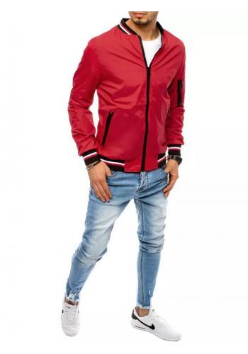 Červená přechodná bunda pro pány