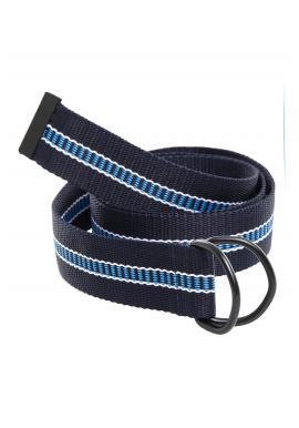 Modrý látkový pásek pro pány