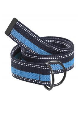 Pánský látkový pásek v modré barvě