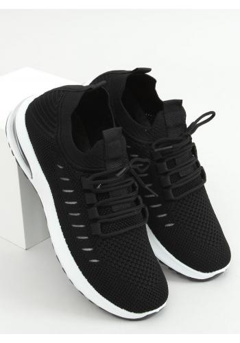 Dámské ponožkové tenisky v černé barvě