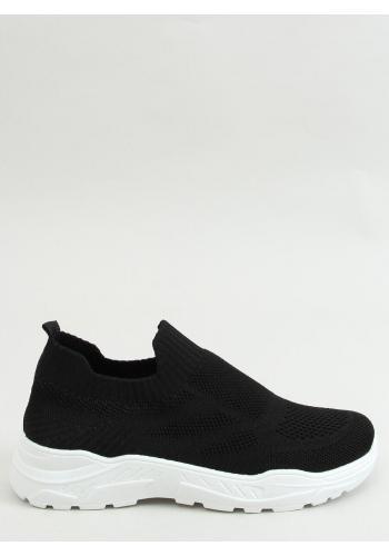Dámské nazouvací sportovní tenisky v černé barvě