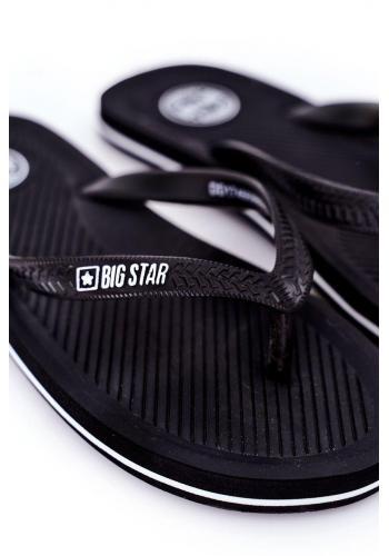 Černé klasické žabky Big Star pro pány