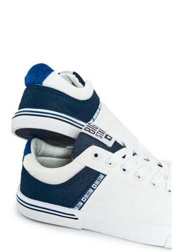 Pánské sportovní tenisky značky Big Star v modro-bílé barvě