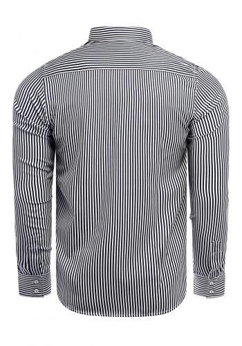 Pánská pásikavá košile s dlouhým rukávem