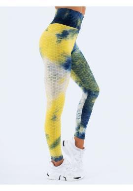 Stylové barevné dámské legíny s vysokým pasem