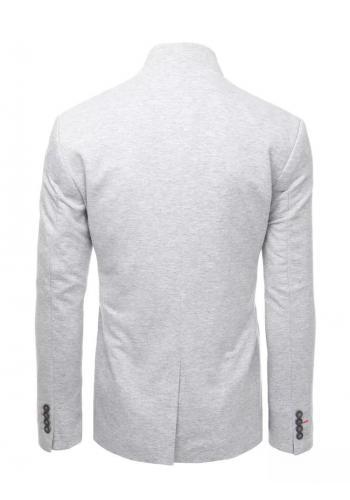 Neformální pánské sako šedé barvy