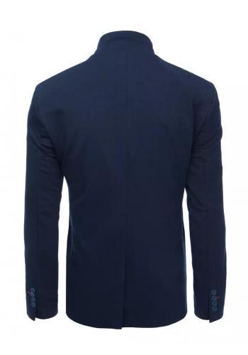 Pánské neformální sako v tmavě modré barvě