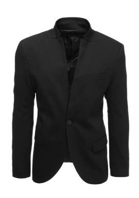 Černé neformální sako pro pány