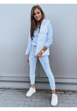 Světle modrá módní souprava pro dámy
