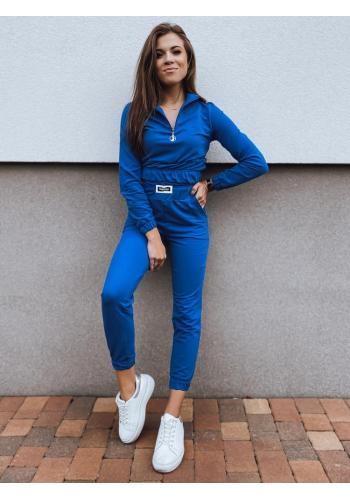 Světle modrá tepláková souprava mikiny a kalhot pro dámy