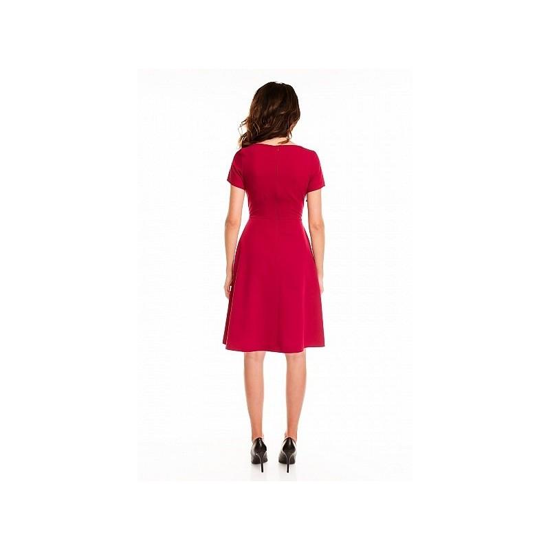 Dámské šaty - bordové