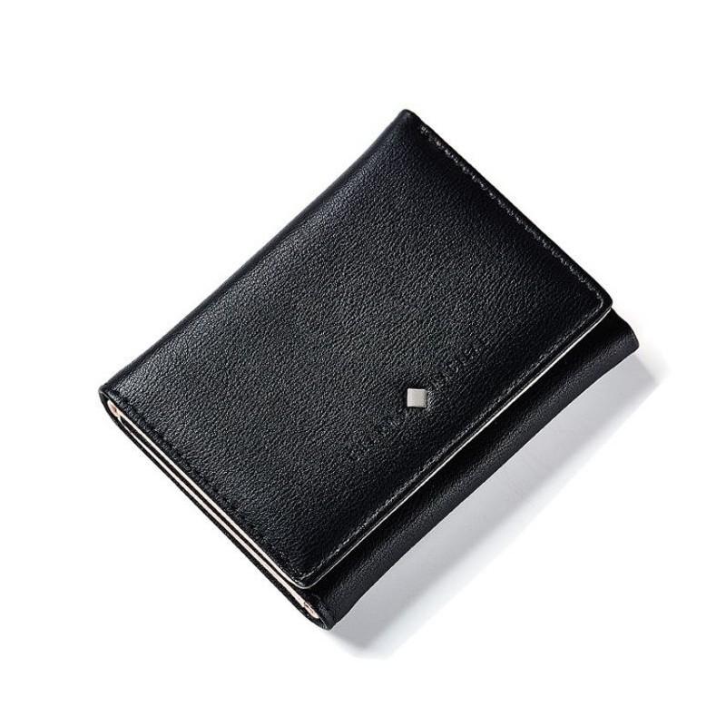 Klasická dámská peněženka šedé barvy se zlatou ozdobou