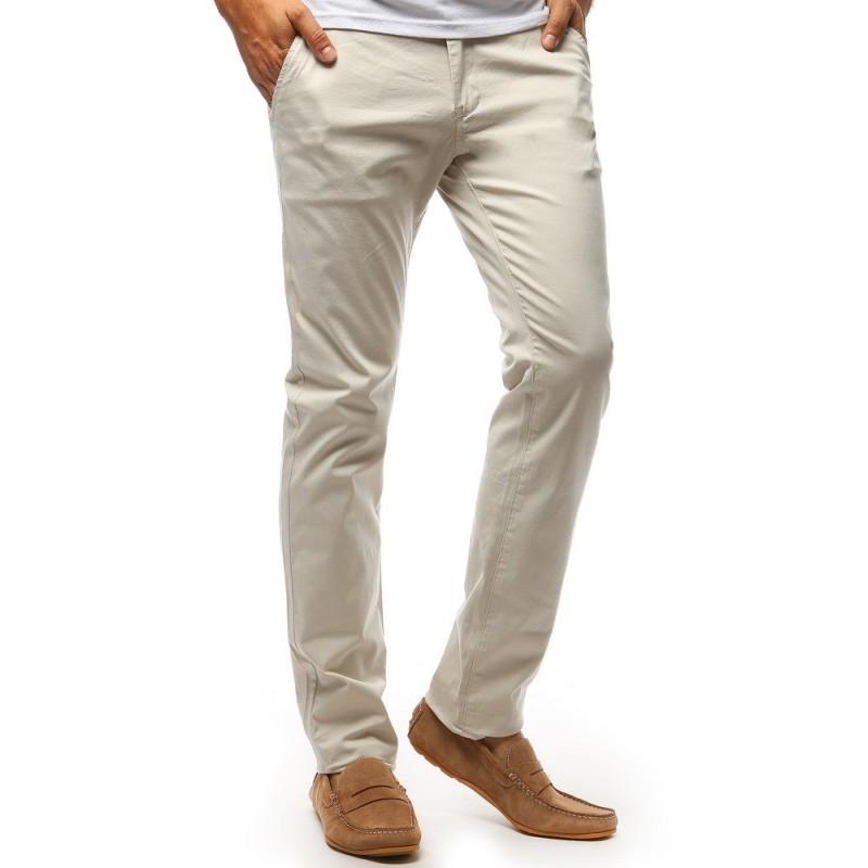 Černé elegantní kalhoty Chinos pro pány