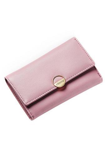 Růžová elegantní peněženka pro dámy