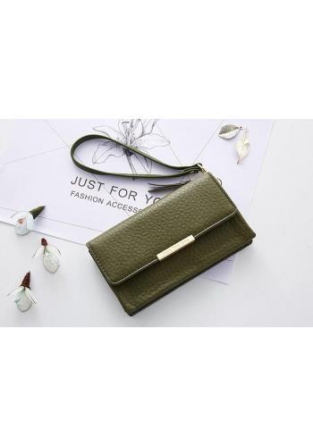 Elegantní dámská peněženka bordové barvy