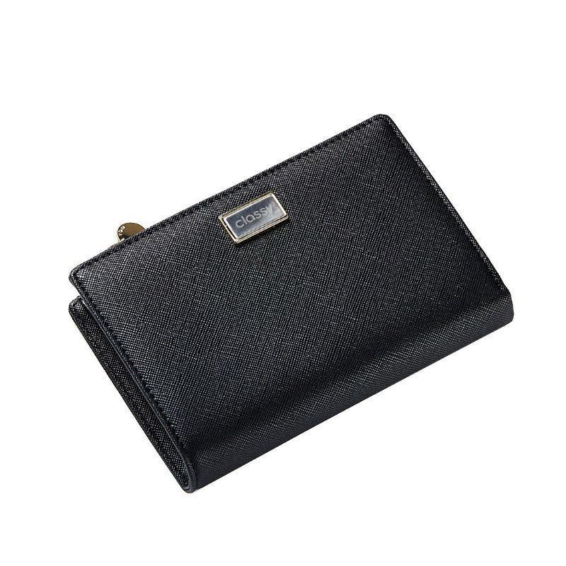 Bordová klasická peněženka pro dámy