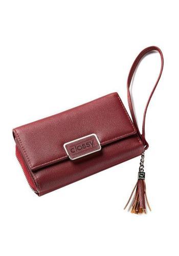 Šedý stylová peněženka pro dámy